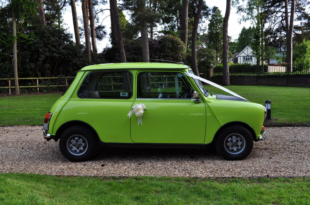 Hire A Classic Car Mr Bean 1980 Mini
